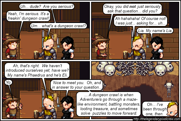 "Strip 271 - ""The Dungeon Crawl"""