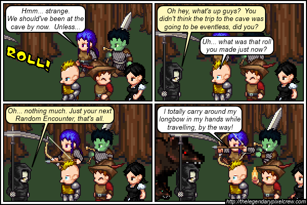 "Strip 276 - ""Time for another Random Encounter"""