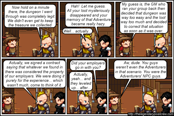 "Strip 273 - ""There was a lot of Torch Carrying involved"""