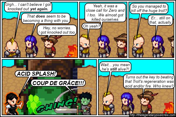 "Strip 313 - ""Acid Splash is a 0th level spell"""