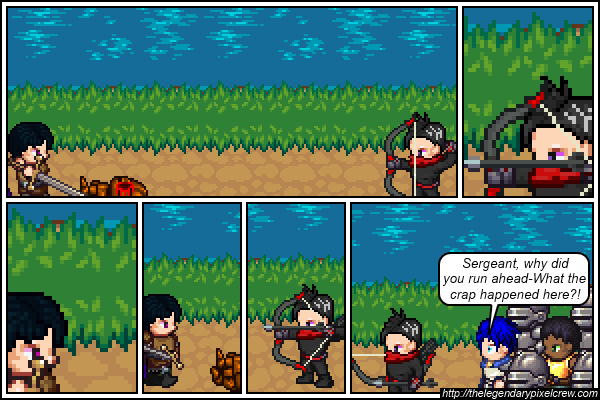 "Strip 328 - ""What do you THINK happened here?"""