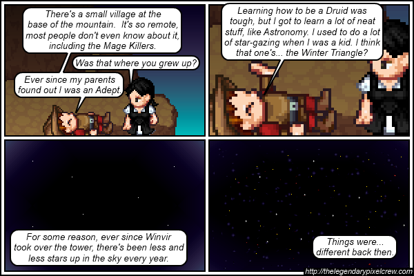 """Strip 374 - """"Navigating by stars back then was way easier"""""""