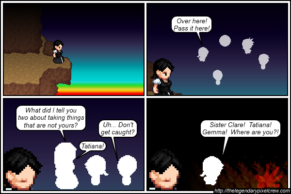 "Strip 371 - ""Brooding over a cliff... Classic"""