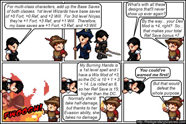"""Strip 394 - """"Saving Throws Part 2"""""""