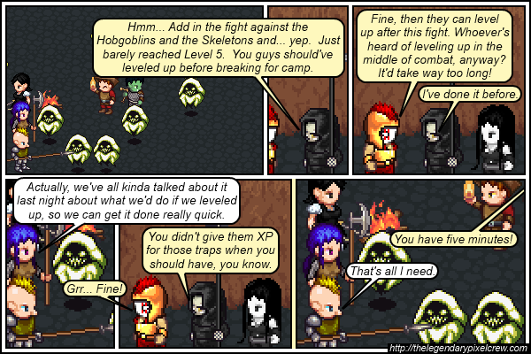 "Strip 418 - ""It's always good to plan ahead"""