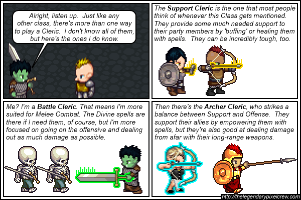 """Strip 441 - """"The many different types of Clerics Part 2"""""""