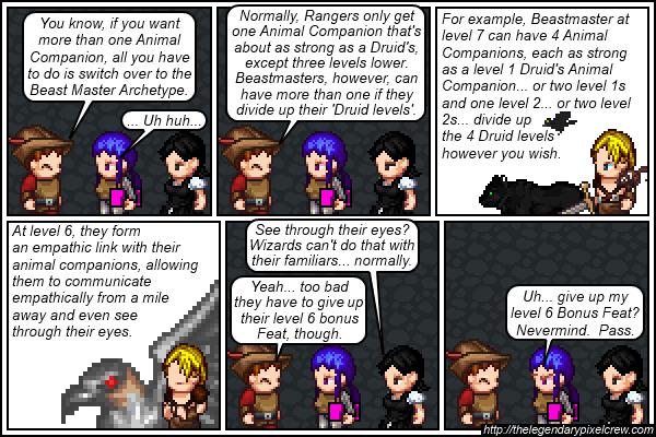 "Strip 467 - ""Animal Companions part 4"""