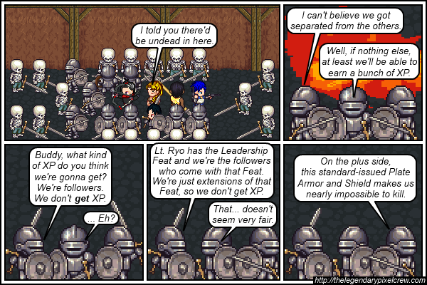 "Strip 495 - ""The Leadership Feat - Part 1"""