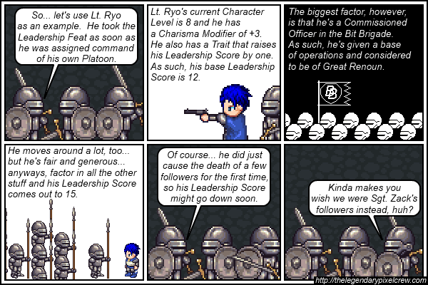 "Strip 497 - ""The Leadership Feat - Part 3"""
