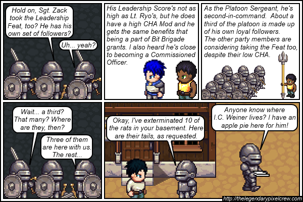 """Strip 498 - """"The Leadership Feat - Part 4"""""""