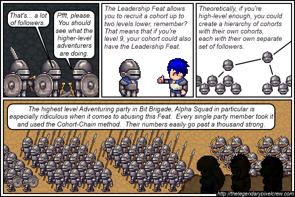"""Strip 499 - """"The Leadership Feat - Part 5"""""""