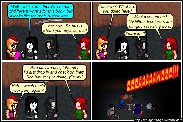"Strip 512 - ""Time to name another adventuring party"""