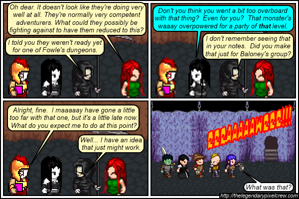 "Strip 514 - ""The next plot point"""