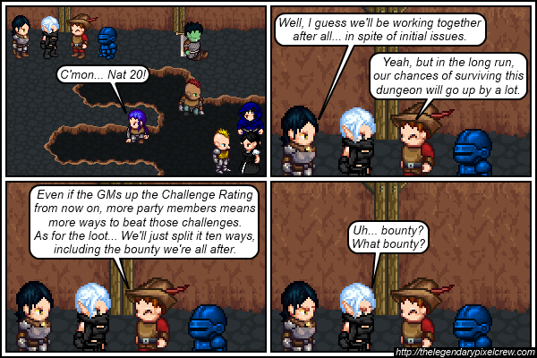 """Strip 528 - """"Assuming there will be much loot"""""""