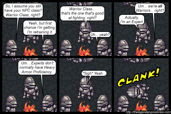 "Strip 539 - ""NPC Classes"""