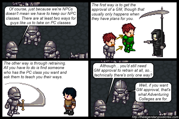 "Strip 542 - ""NPC Classes part 4"""