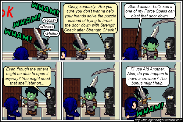 "Strip 552 - ""Acceptable Alternative Answers"""