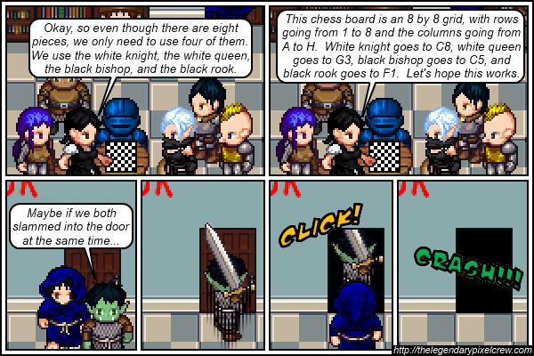 """Strip 555 - """"Escape Room - Part 7"""""""