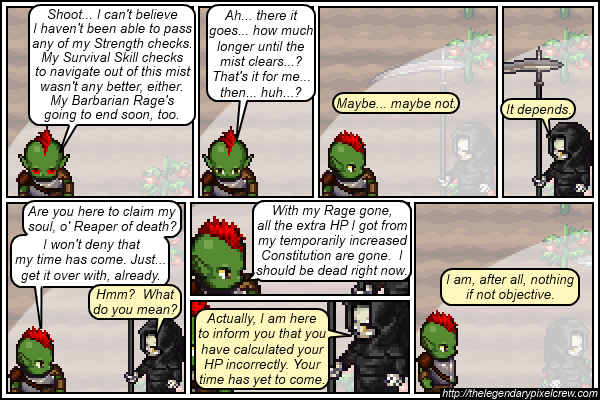 "Strip 078 - ""He does not represent the behaviour of all GMs, by the way"""