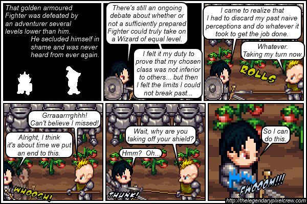"Strip 105 - ""Phaedrus vs. Gaius - Round 3"""