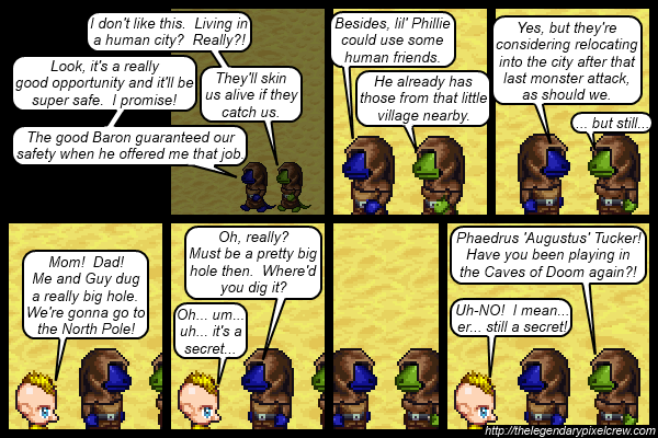 "Strip 116 - ""Phaedrus Tucker - Part 1"""