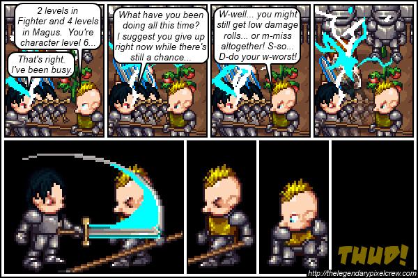 """Strip 115 - """"Phaedrus vs. Gaius - End"""""""