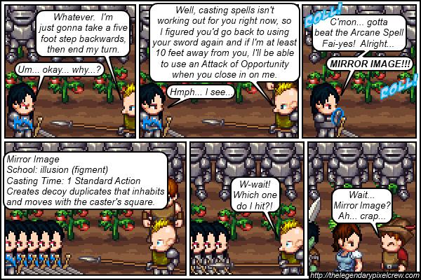 """Strip 109 - """"Phaedrus vs. Gaius - Round 4"""""""