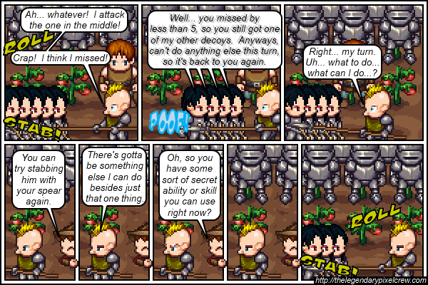"Strip 110 - ""Phaedrus vs. Gaius - Round 5"""