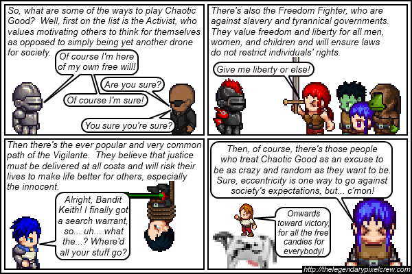 Strip 141 - Alignment Tutorial - Part 7 (Chaotic Good)