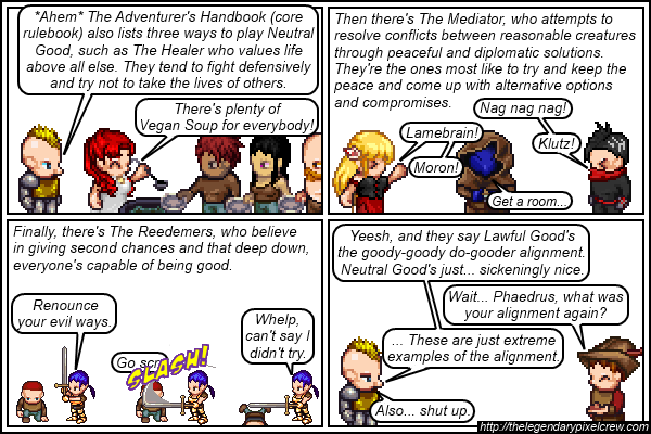 Strip 139 - Alignment Tutorial - Part 5 (NeutralGood)