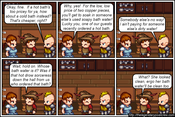 "Strip 162 - ""It's in the rulebook!"""