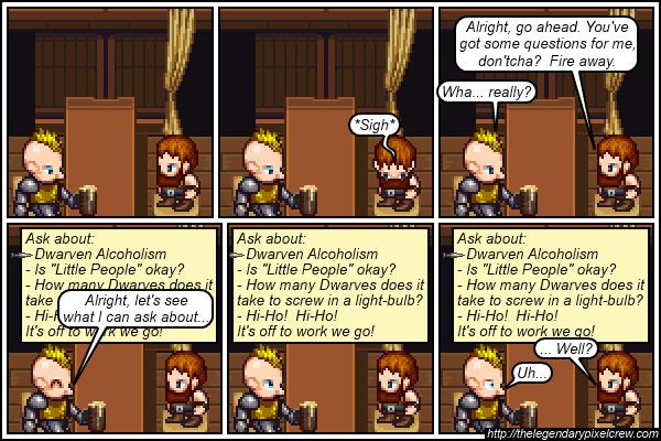 "Strip 171 - ""The Dialogue Options Box"""