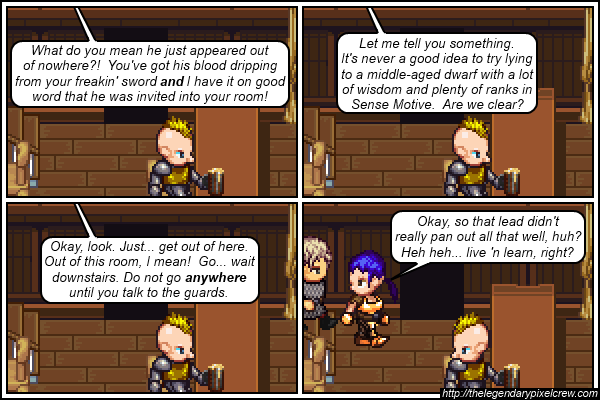 "Strip 175 - ""Should've tried a bribe"""