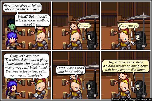 "Strip 207 - ""The Mace Billers"""