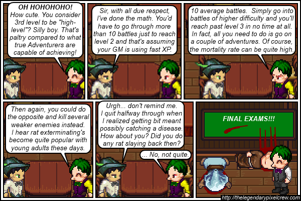 "Strip 204 - ""Boars are good choices for enemies, too"""