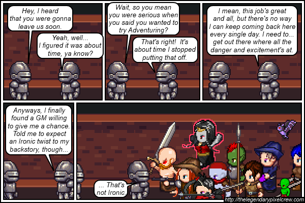 "Strip 225 - ""That's just bad luck."""