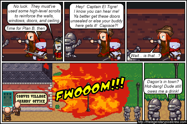"Strip 227 - ""So much for magically reinforced windows"""